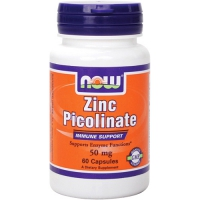 NOW Zinc Picolinate 50mg – Цинк