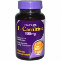 Natrol L-Carnitine 500 mg (30 капс)