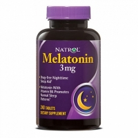 Natrol Melatonin 3 mg (240 таб)