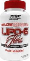 Nutrex Lipo 6 Hers (120 капс)