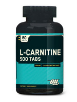Optimum Nutrition L-Carnitine 500mg (60 таб)