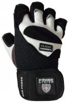 Перчатки для тяжелой атлетики Power System Raw Power PS-2850