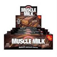 CytoSport Muscle Milk протеиновый батончик (8шт х 73гр)