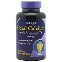 Natrol Coral Calcium mg Magnesium & Vit D (90 капс)