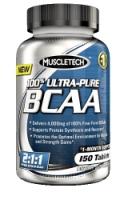 MuscleTech 100% Ultra-Pure BCAA (150 таб)