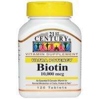 21st Century Biotin 10.000 mcg