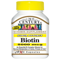 21st Century Biotin 5000 mcg