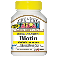 21st Century Biotin 800 mcg