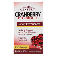 21st Century Cranberry Plus Probiotic - Клюква с пробиотиками