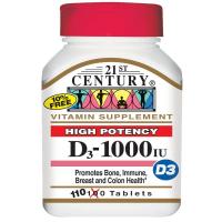 21st Century D3-1000 IU