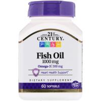21st Century Fish Oil 1000 mg