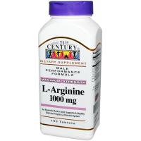 21st Century L-Arginine 1000 mg