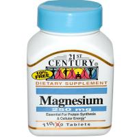 21st Century Magnesium 250 mg