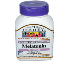 21st Century Melatonin 5 mg