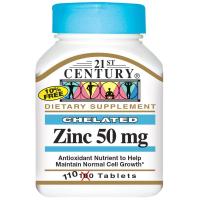 21st Century Zinc 50 mg