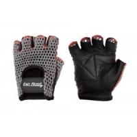Перчатки для фитнеса Be First (черно-серые)