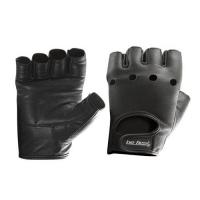 Перчатки для фитнеса Be First кожа (черные)