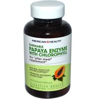 American Health Papaya Enzyme with Chlorophyll