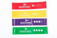 BAND4POWER Комплект из 4 мини-петель (Mini bands)