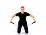 BAND4POWER Трубчатый эспандер сильная нагрузка (черный)