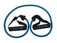 BAND4POWER Трубчатый эспандер средняя нагрузка (синий)