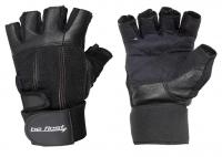 Be First Черные перчатки с фиксатором запястья