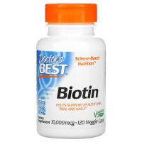 Doctor's Best Best Biotin 10000 mcg