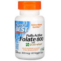 Doctor's Best Fully Active Folate 800