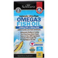 BioSchwartz Omega 3 Fish Oil 1200 mg EPA & 900 mg DHA