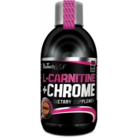 BioTech USA L-Carnitine Liquid + Chrome (500 мл)