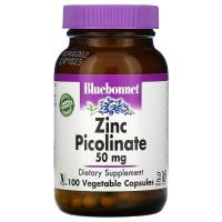Bluebonnet Nutrition Zinc Picolinate 50 mg