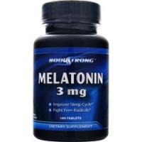 Body Strong Melatonin 3 mg (180 таб)