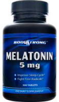 Body Strong Melatonin 5 mg (90 таб)