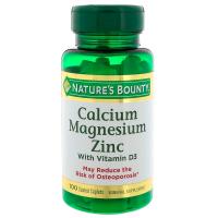 Nature's Bounty Calcium Magnesium Zinc with Vitamin D3
