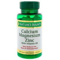 Nature's Bounty Calcium Magnesium Zinc with Vitamin D3