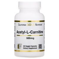 California Gold Nutrition Acetyl-L-Carnitine 500 mg