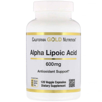 California Gold Nutrition Alpha Lipoic Acid 600 mg