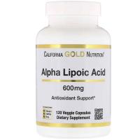 California Gold Nutrition Alpha Lipoic Acid 600 mg