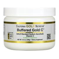 California Gold Nutrition Buffered Gold C (238 гр) - Аскорбат натрия