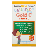 California Gold Nutrition Children's Liquid Gold Vitamin C (118 мл)