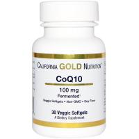 California Gold Nutrition CoQ10 100 mg