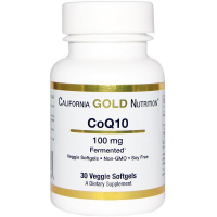 California Gold Nutrition CoQ10 100 mg