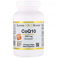 California Gold Nutrition CoQ10 200 mg