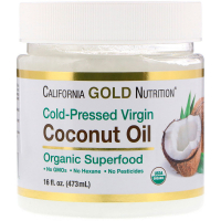 California Gold Nutrition Coconut Oil - Кокосовое масло