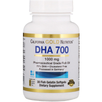 California Gold Nutrition DHA 700 (1000 mg)