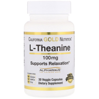 California Gold Nutrition L-Theanine 100 mg