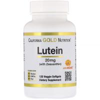 California Gold Nutrition Lutein 20 mg - Лютеин с зеаксантином