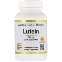 California Gold Nutrition Lutein 20 mg - Лютеин с зеаксантином