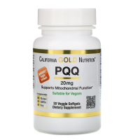 California Gold Nutrition PQQ 20 mg