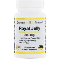 California Gold Nutrition Royal Jelly 500 mg - Маточное молочко